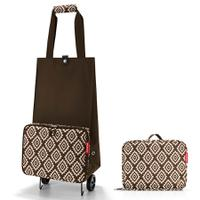 Сумка на колесиках foldabletrolley diamonds mocha, Reisenthel